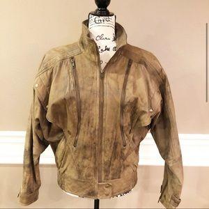 Learsi: Genuine Leather Jacket